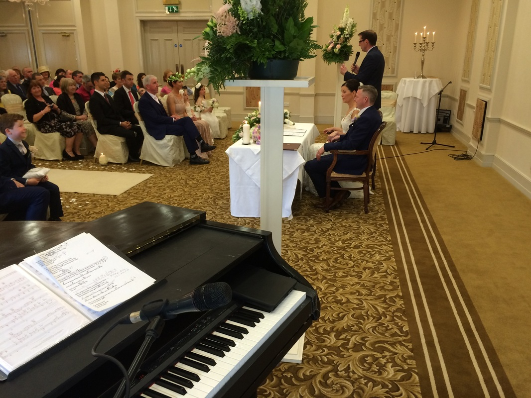 mayo wedding singer, knockranny house hotel