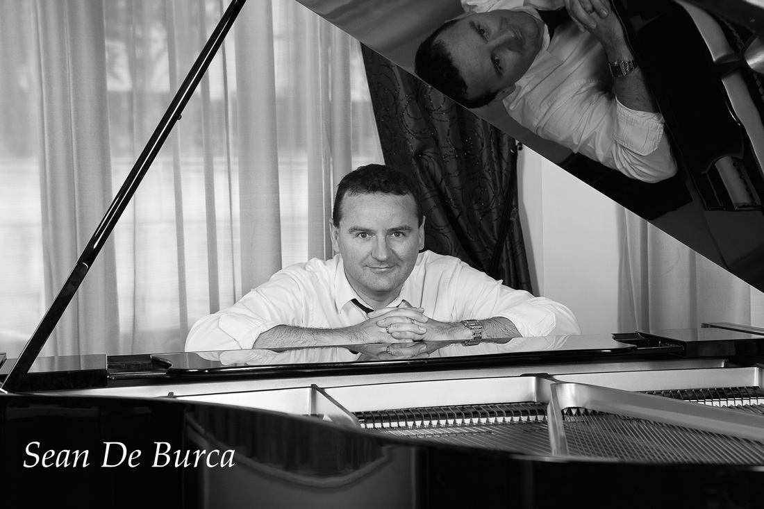 Sean De Burca, Piano Vocalist Ireland