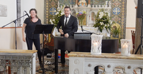 The Claddagh church, galway. Wedding Ceremonu Music