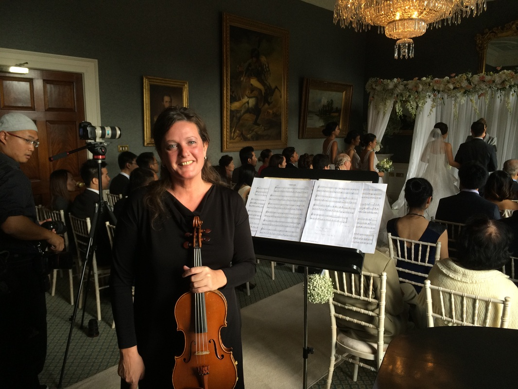 Violin and piano for weddings