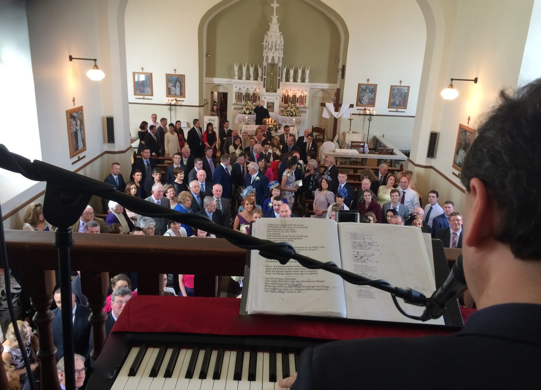 kiltullagh church, galway wedding singerPicture