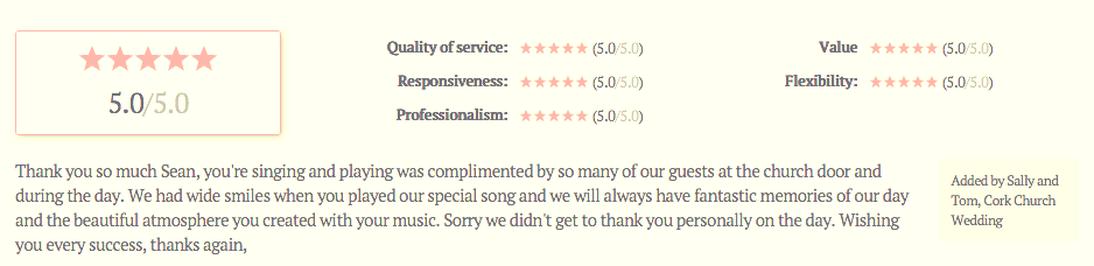 Reviews For Sean De Burca Ireland S No 1 Piano Vocalist