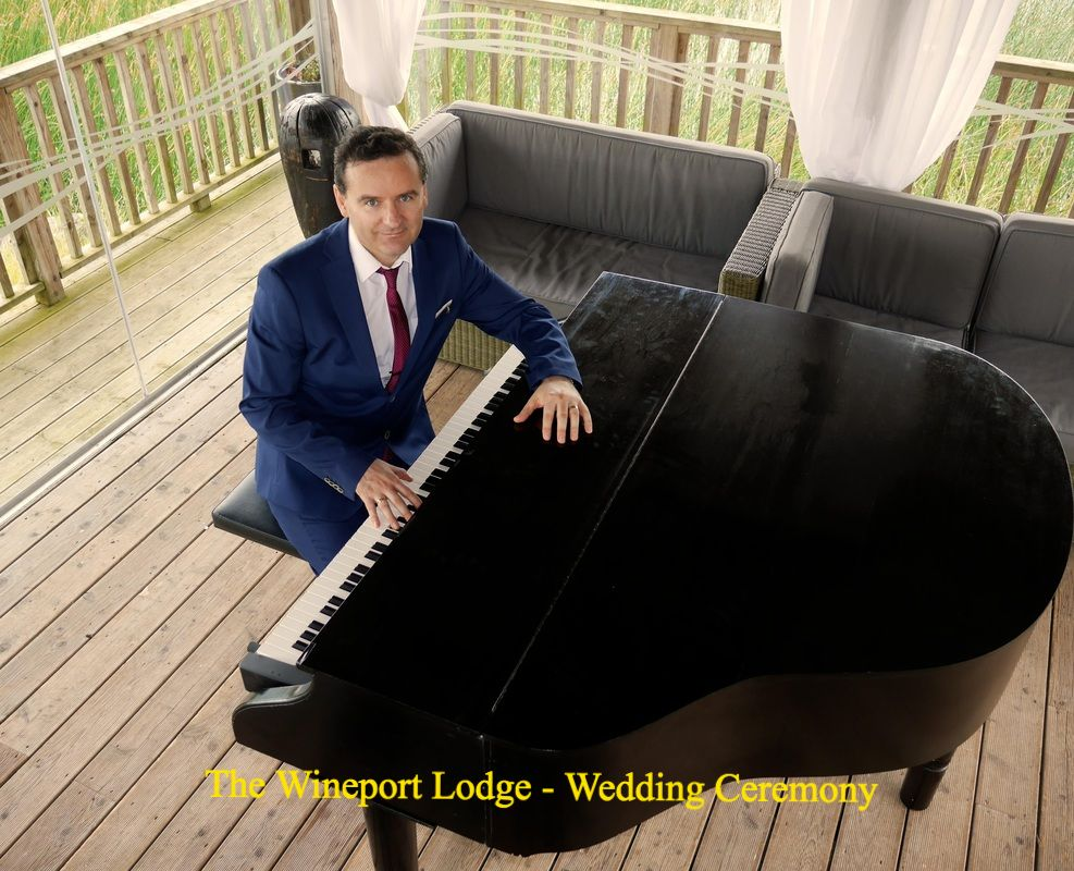 Wineport Lodge, Glasson, Wedding pianist