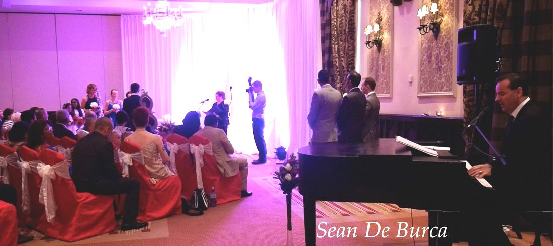 Clontarf castle, Dublin, Wedding Singer