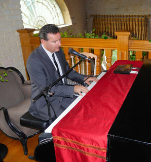 wedding pianist and singer at The Village at Lyons, Kildare